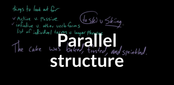 English Grammar: Parallel Structure Quiz! Trivia Questions