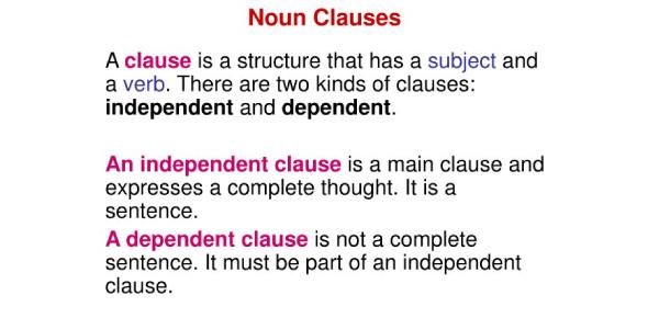 Noun Clause Basic Test: Quiz!