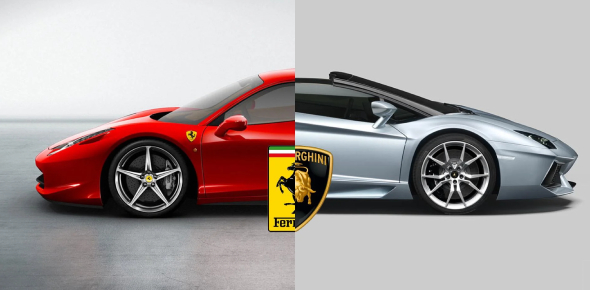Are You A Lamborghini Or Ferrari?