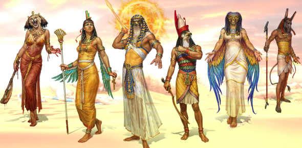 Ancient Egyptian Gods And Goddesses! Trivia Facts Quiz