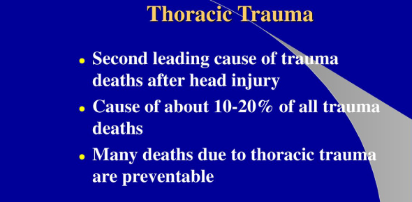 What Do You Know About Thoracic Trauma? Trivia Quiz