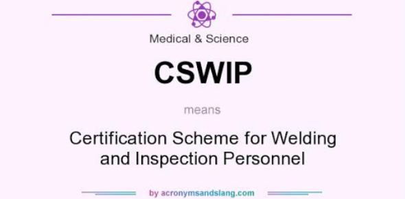 CSWIP: Welding Inspector Exam Quiz!