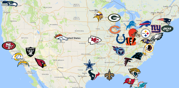 Quiz: Cities And Their NFL Teams