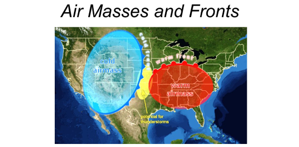 Weather Quiz: Air Masses And Fronts
