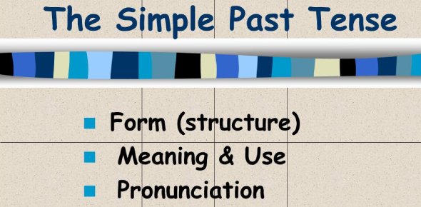 Grammar Test 1a Simple Past And Other Tenses