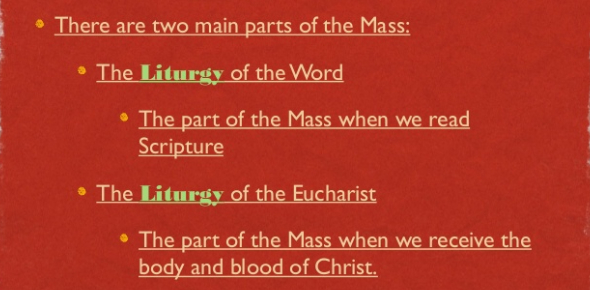 5th Grade Test - Parts Of The Mass