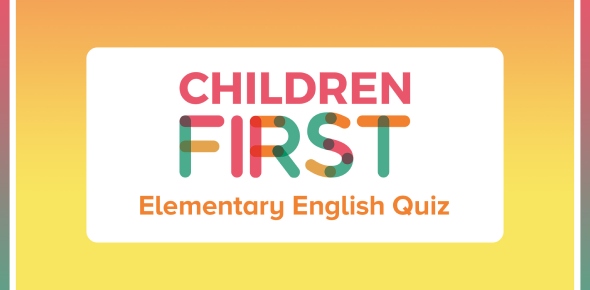 Elementary Level English Test! Trivia Quiz