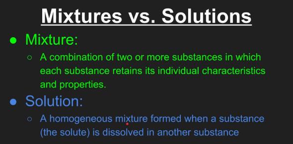 Mixtures And Solutions Quiz: 5th Grade!