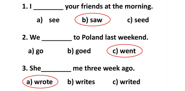Grammar Quiz: Can You Choose The Correct Verb To Pass?