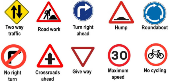 Road Safety Signs And Rules Quiz! Trivia