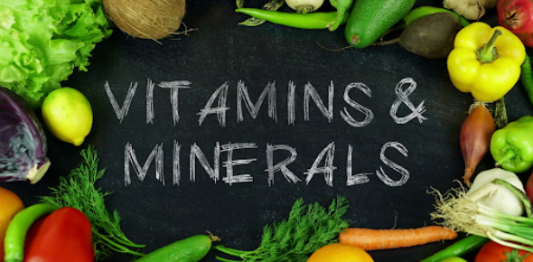 Vitamins And Minerals Quiz