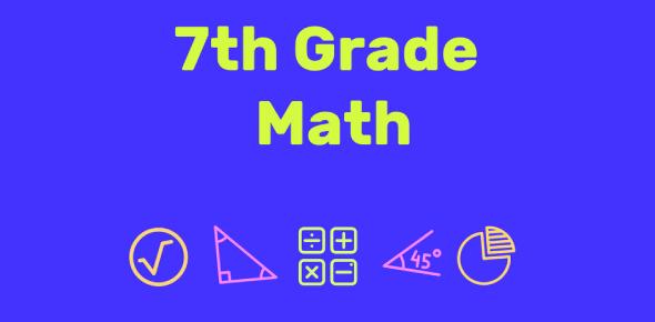 A 7th Grade Math Quiz!