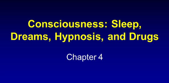 Psychology: Chapter 4- Consciousness: Sleep, Dreams, Hypnosis, And Drugs