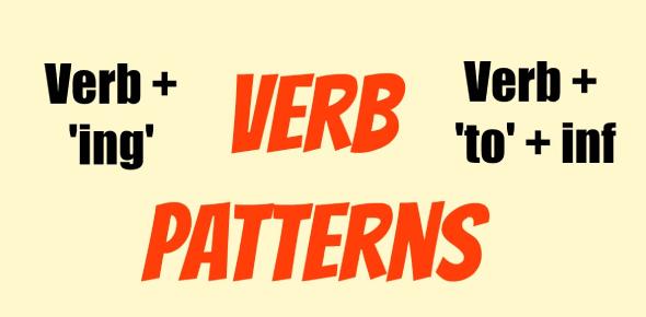 English Grammar- Verb Patterns Quiz