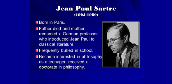 Jean Paul Sartre Existentialism Philosophy! Trivia Quiz