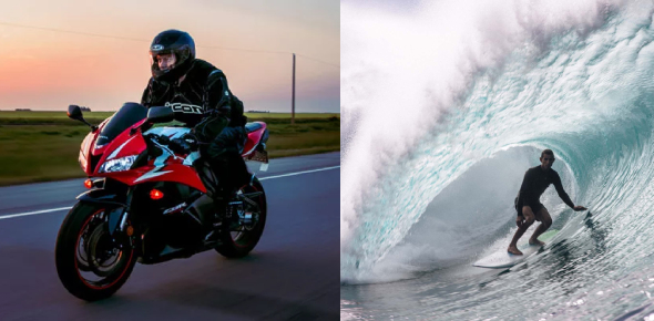 Are You A Biker Or A Surfer? Quiz!