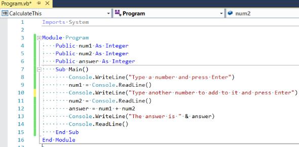 Visual Basic .Net Practice Test! Trivia Quiz