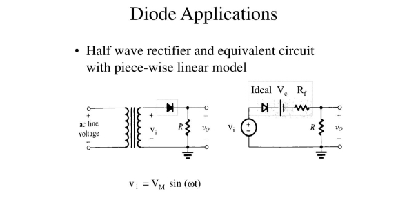 Electronics Quiz On Diode Applications!