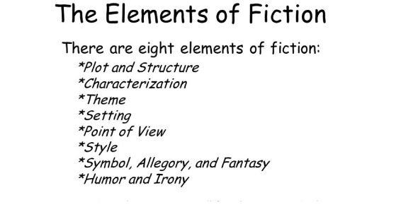 Trivia Quiz On The Elements Of Fiction!