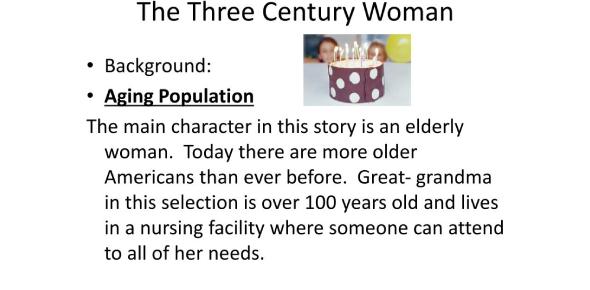 The Three Century Woman Story! Trivia Quiz