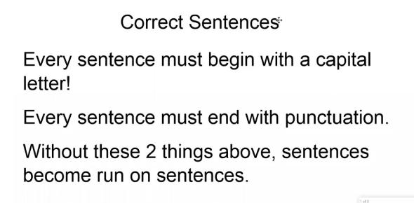 Correct Sentence Revision Quiz