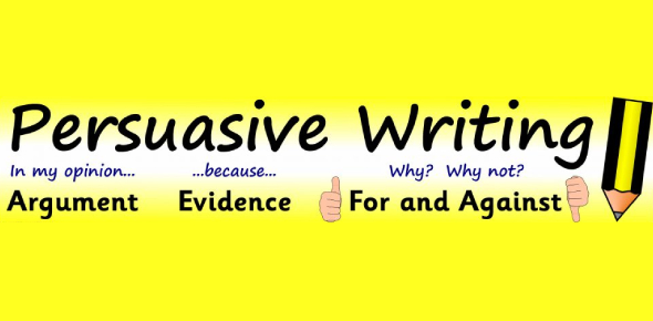 Persuasive Writing Quiz