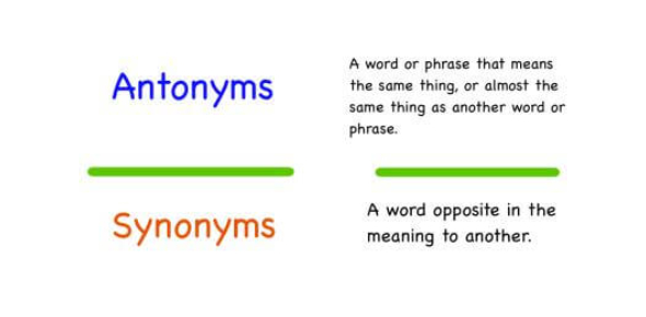 Quiz: Can You Pass The Synonyms And Antonyms Test?