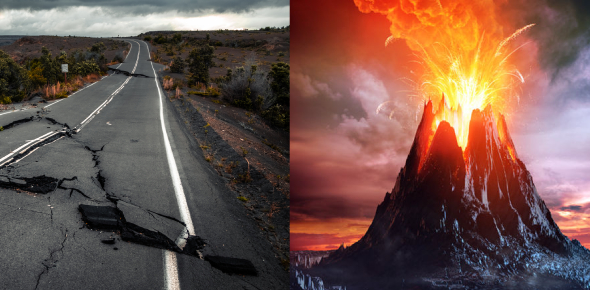 Earthquakes And Volcanoes Quiz