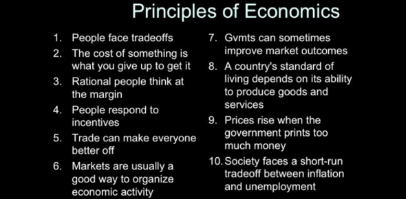 Quiz: Principles Of Economics Questions!