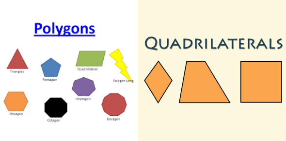 Polygons And Quadrilaterals Quiz! Test