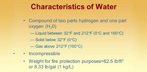 Characteristics Of Water Quiz!