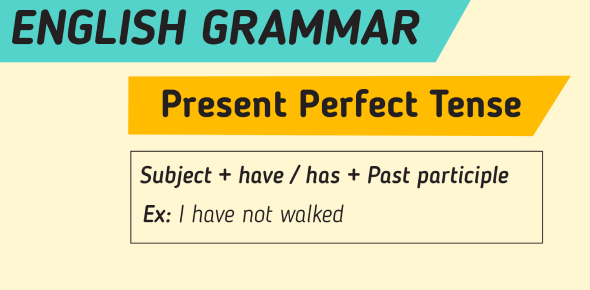The Present Perfect Tense Questions! Grammar Quiz