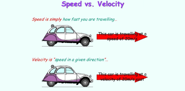 Quiz On Speed And Velocity! Trivia