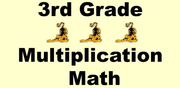 3rd Grade Multiplication Quiz! Trivia Test