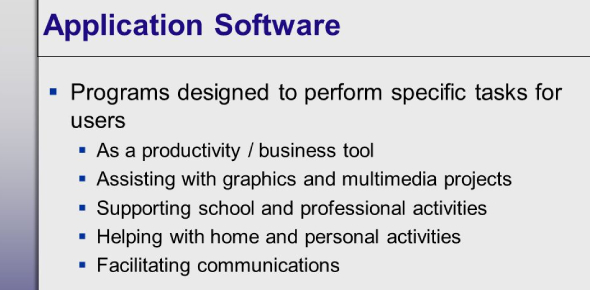 Operating System: Application And Software Tools! Quiz