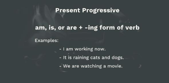 Present Progressive: Irregular Verbs