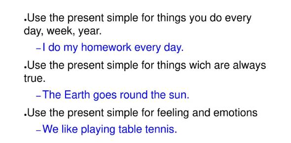 Present Simple Tense Questions Exam: Quiz!