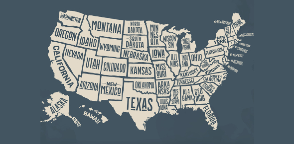 US States Quiz MCQ Exam: Trivia!