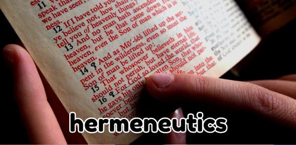 Biblical Hermeneutics! Trivia Questions Quiz
