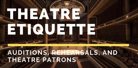 A Trivia Quiz On Theatre Etiquette!