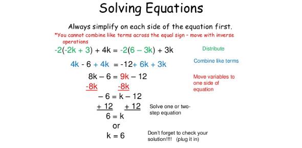 Solving Equations Basic Test! Trivia Quiz