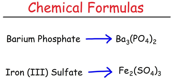 Year 10 Chemical Formulas Test