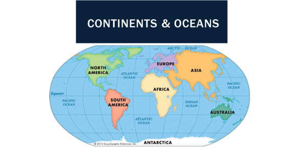 World Map Quiz: Identify The Continents And Oceans!