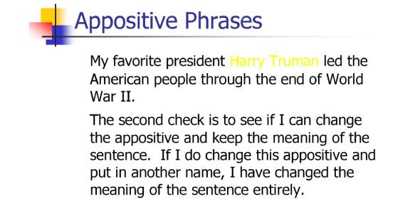 The Ultimate Appositive Phrase Quiz!