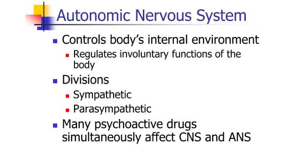 Drugs That Affect Autonomic Nervous System! Trivia Quiz