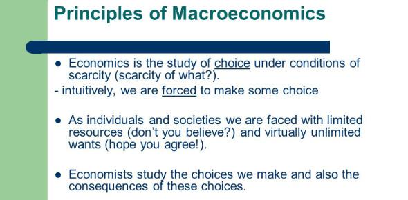 Economics Quiz: Principles Of Macroeconomics! Trivia