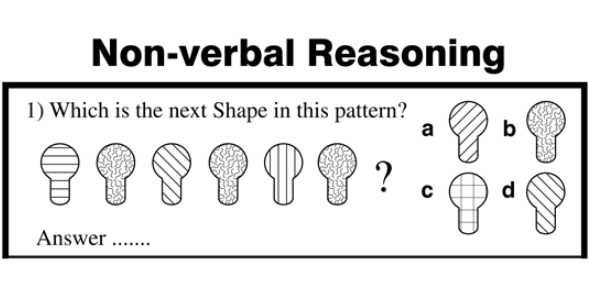 Non- Verbal Reasoning Test