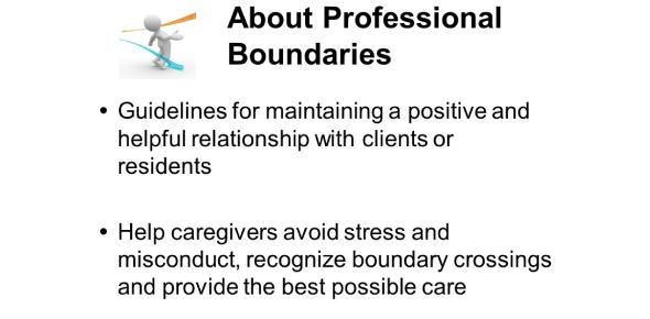 Quiz: Professional Boundaries For Caregivers!