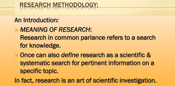 The Research Methodology Quiz! Trivia