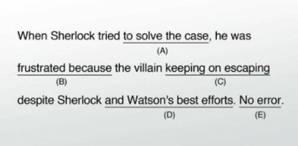 SAT Sentence Completion Exam Quiz!